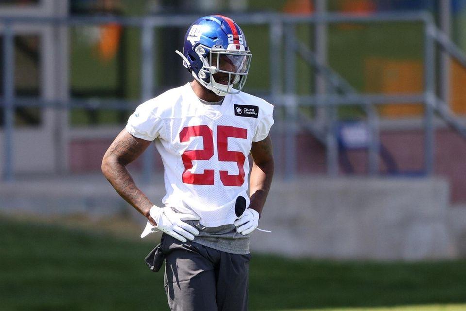 Rodarius Williams #25 of the New York Giants