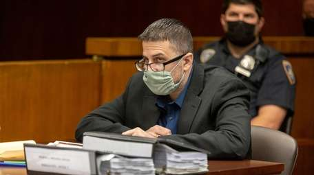 Michael Valva during a pre-trial hearing at the