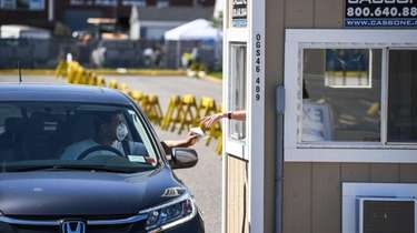 Town residents could pay taxes at a drive-by