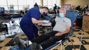 The annual Glen Ciano Blood Drive was held
