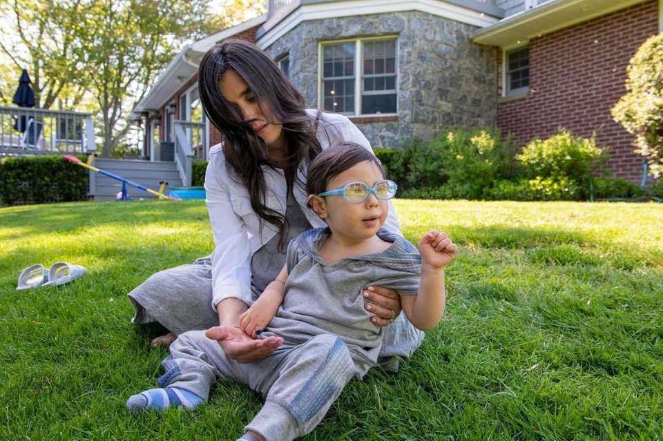 Eli Reich, 2, has a rare genetic disorder.