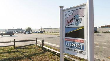 East Hampton Town Airport in Wainscott in 2016.