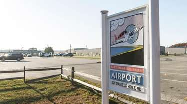 East Hampton Town Airport in Wainscott in 2016.