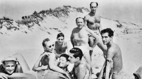 Same-sex relationships flourished at Cherry Grove. This photograph
