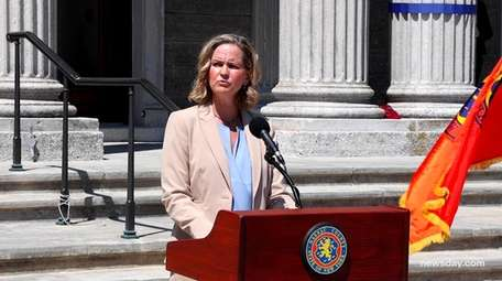 Nassau County Executive Laura Curran proposed Monday that