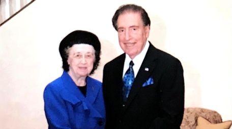 Virginia and Alfred Impellizzeri of West Islip in