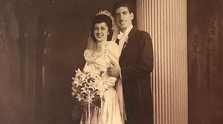 Virginia and Alfred Impellizzeri of West Islip on