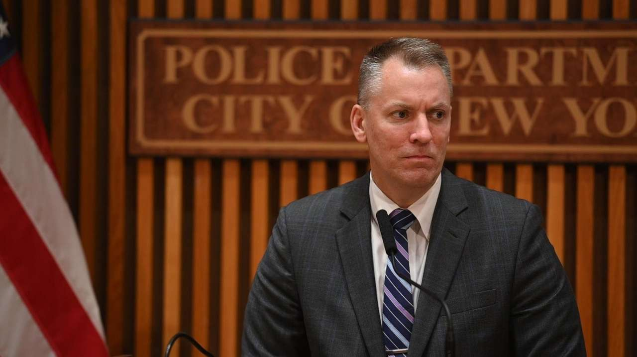 NYPD Chief of Personnel Martin Morales said Tuesday
