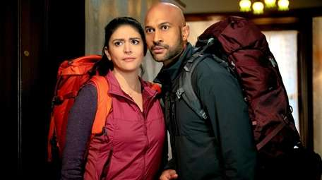 Cecily Strong and Keegan-Michael Key star in
