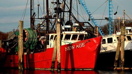 Montauk fisherman Christopher Winkler, captain of the New