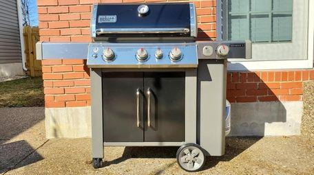 The Weber Genesis II E-335 gas grill comes