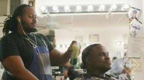 Eligah and Daniel Crawford's barbershop has been in