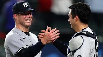 Corey Kluber #28 of the New York Yankees