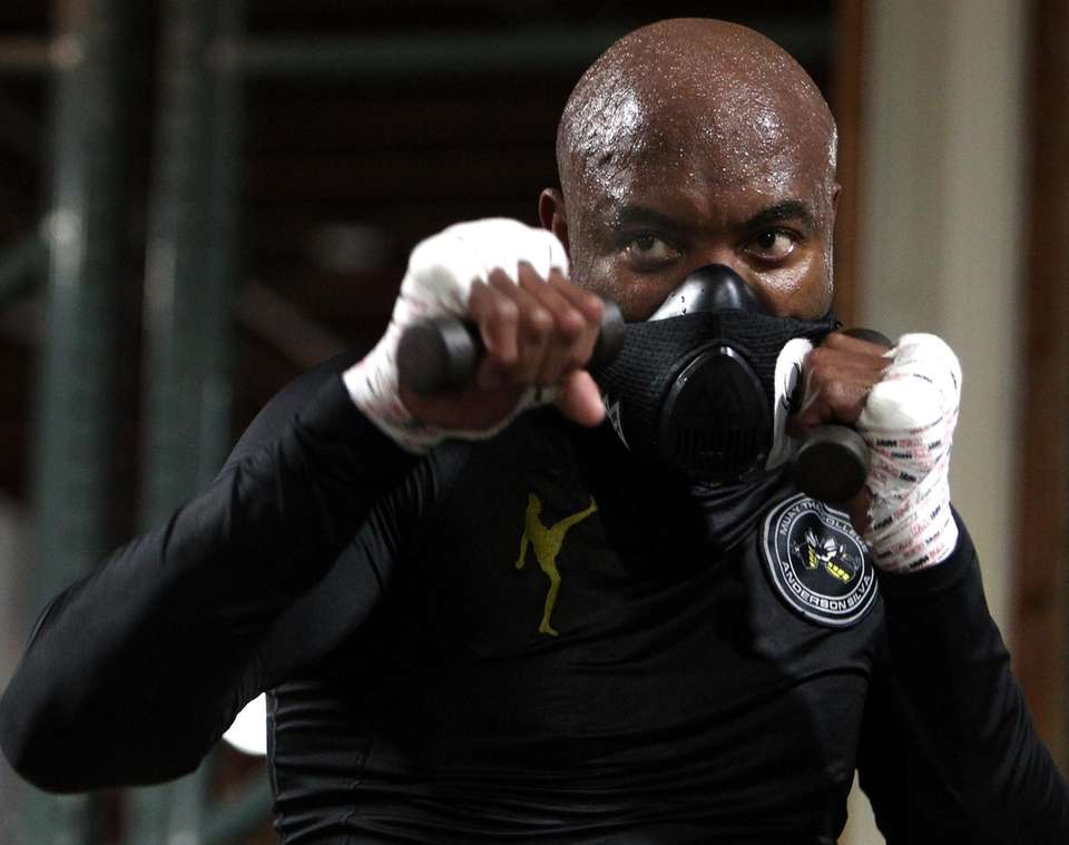 Anderson Silva, former UFC middleweight champion and among