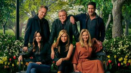 """""""Friends: The Reunion"""" debuts May 27 on HBO"""