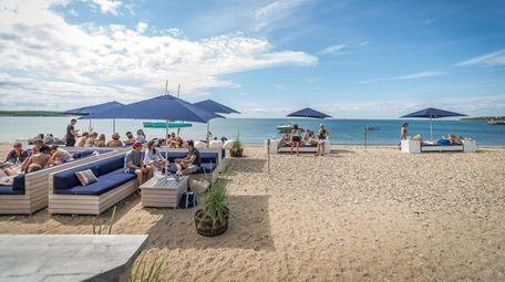 Navy Beach in Montauk offers 200 feet of