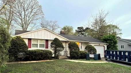 Priced at $469,900, this three-bedroom, one-bathroom ranch on
