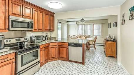 The kitchen and open floor plan are what