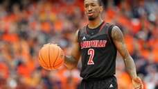 Russ Smith #2 of the Louisville Cardinals