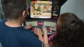 Long Islanders revisited old school video games at