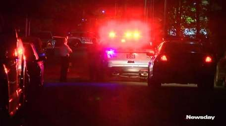 Police said two shooting incidents in Suffolk County