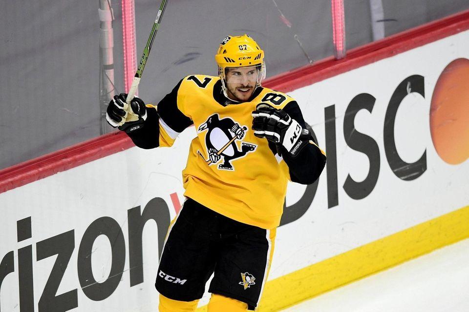 PITTSBURGH, PENNSYLVANIA - MAY 24: Sidney Crosby #87