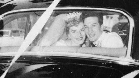 Joyce and Angelo Rum of Huntington were married