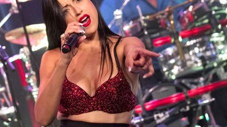 Genessa & The Selena Experience. Picured: Genessa Escobar,