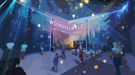 Wonder/Wall is an immersive exhibit that will feature