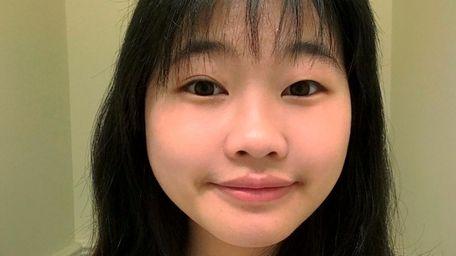 Jessica Wang, a junior at Cold Spring Harbor