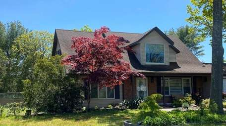 The four-bedroom house where Jen Sidorova rented and