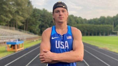 U.S. Olympic hopeful Jack Flood.