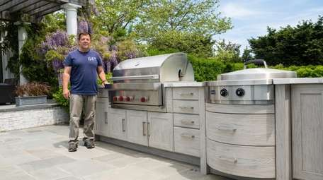 Michael Gotowala, founder of the Outdoor Kitchen Design