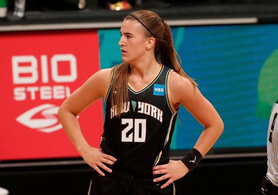 Sabrina Ionescu #20 of the New York Liberty