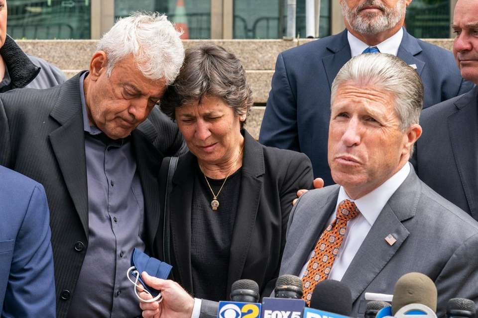 The parents of NYPD Highway Patrol Officer Anastasios