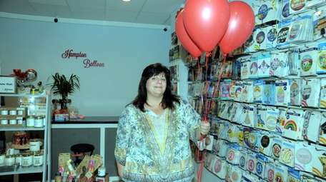 Sandy Fiore, owner of Hampton Balloon & Party