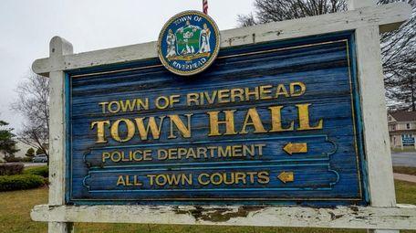 Riverhead Town Hall in Riverhead on Feb. 6,