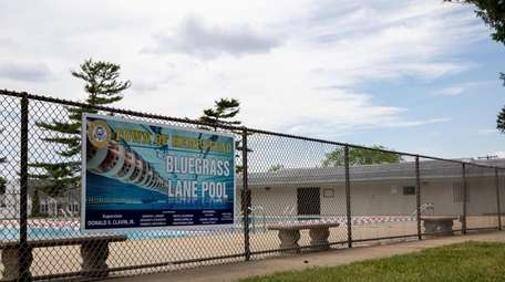 Bluegrass Lane Pool in Levittown