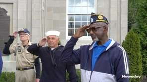 From a parade in Freeport to quiet reflection