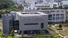 The epidemiological laboratory at the Wuhan Institute of