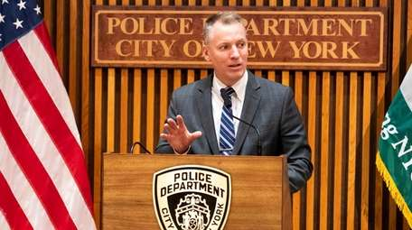 NYPD Commissioner Dermot Shea on Tuesday criticized bail
