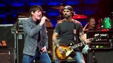 Mississippi rockers 3 Doors Down, featuring lead singer