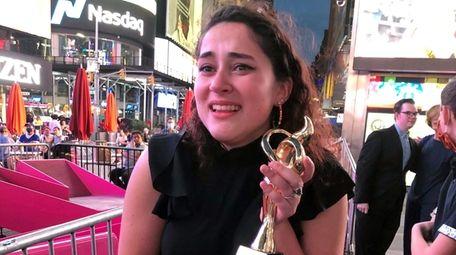 Wantagh High School student Katriana Koppe, winner of