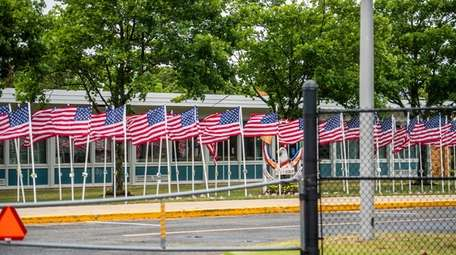 Holbrook elementary school on Memorial Day