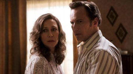 Vera Farmiga and Patrick Wilson play the paranormal