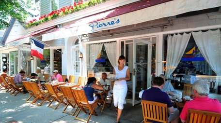 Pierre's is a French bistro in Bridgehampton with