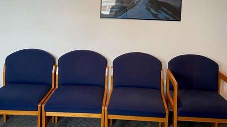 The chairs in the group room at Cathy
