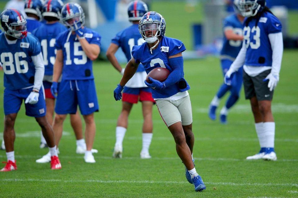 New York Giants wide receiver Sterling Shepard (3)