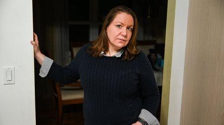 Stephanie Brudner Nocerino, inside her Nesconset home on