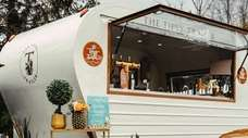 The Tipsy Trailer at a bridal shower in